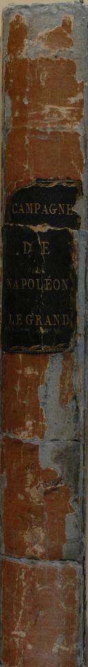 """Photo 7 : VERNET - """" Tableaux Historiques des campagnes d'Italie depuis l'an IV jusqu'à la Bataille de Marengo """" - Paris - 1806"""