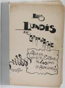 LES LUNDIS DE CARAN D'ACHE (1)