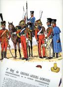 Photo 1 : ROUSSELOT LUCIEN : 2e RÉGIMENT DE CHEVAU-LÉGERS-LANCIERS DE LA GARDE 1810 -1815.