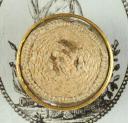 BOUTON D'OFFICIER DE MILICE BOURGEOISE, ANCIENNE MONARCHIE (2)