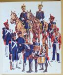 Photo 2 : LILIANE ET FRED FUNCKEN, Collection Casterman : L'UNIFORME ET LES ARMES DES SOLDATS DU PREMIER EMPIRE. TOME 1 et 2