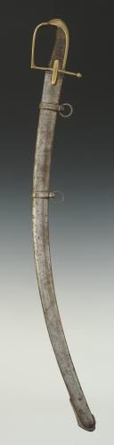 Photo 2 : SABRE DE HUSSARDS, modèle 1777, signé SIMONET, fabrication Révolutionnaire de 1792-1802.