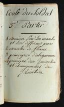 Photo 3 : RÉGLEMENT CONCERNANT L'EXERCICE ET LES MANOEUVRES DE L'INFANTRERIE DU 1ER AOUT DU 1791