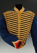 Photo 4 : DOLMAN DU 8ème RÉGIMENT DE HUSSARDS, modèle 1860, Second Empire (1860-1869).