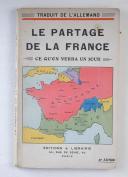 SOMMERFELD (Adolf) – Le partage de la France en l'an 19 ??