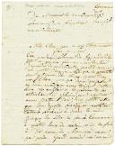 LETTRE DE JACQUES MASSON, tambour dans la compagnie des canonniers du cantonnement de Monvaux en Flandre, Armée du Pas de Calais, AU CITOYEN RATHELOT, à Flavigny en Bourgogne,  3 novembre 1793.