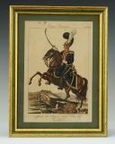 MARTINET : Troupes françaises, planche 239, officier du 3ème Régiment des Chevau-Légers Lanciers, Premier Empire.