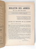 Photo 2 : Revues – Histoire de la guerre par le Bulletin des Armées