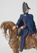 Photo 2 : 1830. Garde Royale. Infanterie (2e Régiment). Officier Supérieur.