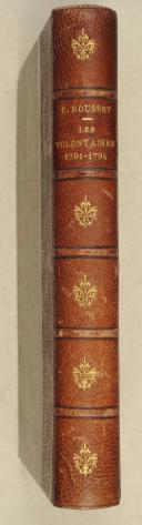ROUSSET. Les volontaires. 1791-1794.   (2)