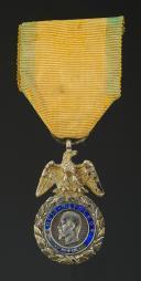 MÉDAILLE MILITAIRE SECOND TYPE, 1853 - 1870, Second Empire.