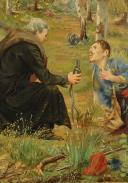Photo 7 : JOSEPH NICOLAS JOUY (1809-1880), HUILE SUR TOILE : TIRAILLEUR ALGÉRIEN SECOND EMPIRE.
