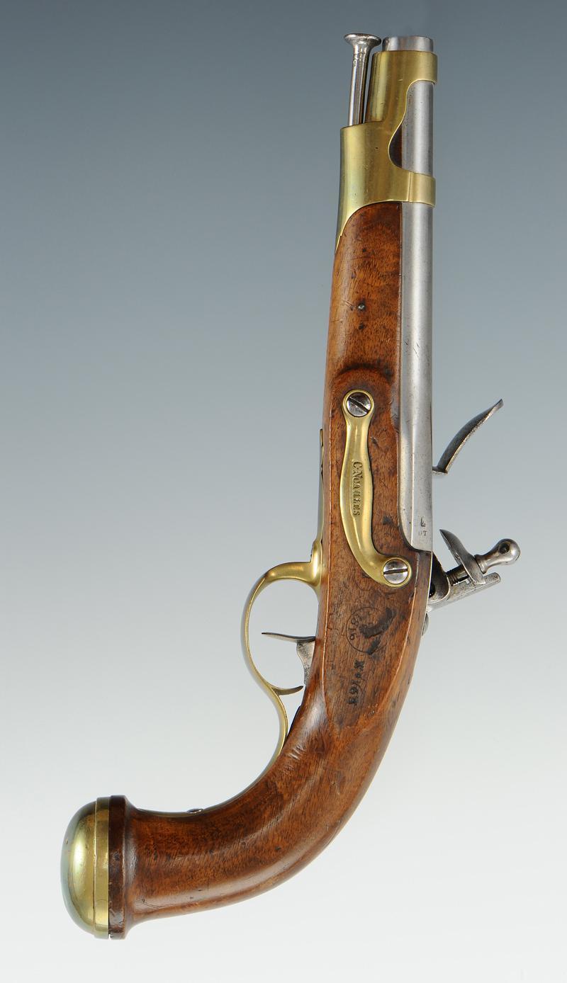 pistolet des gardes du corps de la maison militaire du roi