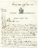Grande Armée, Varsovie. LETTRE D'UN GRENADIER À CHEVAL DE LA GARDE IMPÉRIALE, 7ème compagnie, À SA MÈRE, datée de Varsovie le 3 janvier 1807.