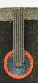 SHAKO du 2ème RÉGIMENT DE CHASSEURS À CHEVAL DE LA GARDE NATIONALE, MODÈLE 1835, MONARCHIE DE JUILLET. (2)