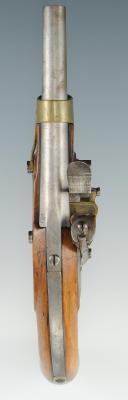 Photo 2 : PISTOLET DE CAVALERIE PREMIER EMPIRE, modèle An XIII DE LA MANUFACTURE ROYALE DE MAUBEUGE, MODÈLE 1814, RESTAURATION.
