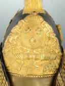 CASQUE D'OFFICIER SUPÉRIEUR DES GENDARMES DE LA MAISON DU ROI 1814 ayant appartenu au COMTE DURFORT (2)