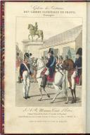 Photo 3 : AMBROISE TARDIEU : GALERIE DES UNIFORMES DES GARDES NATIONALES DE FRANCE, Restauration.