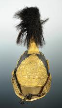 CASQUE D'OFFICIER SUPÉRIEUR DES GENDARMES DE LA MAISON DU ROI 1814 ayant appartenu au COMTE DURFORT (3)