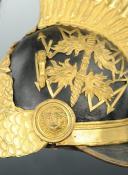 CASQUE D'OFFICIER SUPÉRIEUR DES GENDARMES DE LA MAISON DU ROI 1814 ayant appartenu au COMTE DURFORT (6)