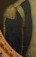 Photo 7 : HUILE SUR TOILE, DE Pierre-François LEFEVRE de LATTRE D'HAILLY, SEIGNEUR DE LIGNY, OFFICIER DES GARDES WALLONNES DU ROI, COMMANDEUR DE L'ORDRE DE MALTE, LOUIX XVI.