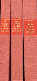 Photo 1 : BOUDRIOT JEAN : LES ARMES À FEU FRANÇAISES DE 1717 À 1836.