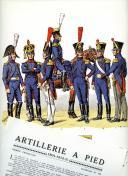ROUSSELOT LUCIEN : ARTILLERIE À PIED (II) 1804 -1815.