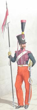 1830. Chasseurs à Cheval. Escadrons de Lanciers (18e Régiment). (2)