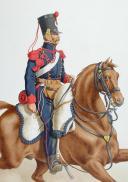 Photo 2 : 1820. Artillerie à Cheval, Artilleur.