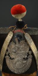 SHAKO D'OFFICIER DE CHASSEUR DE LA GARDE NATIONALE, TYPE 1830, MONARCHIE DE JUILLET. (2)