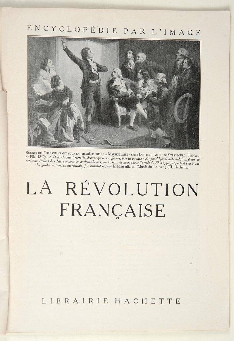 encyclopedie revolution francaise