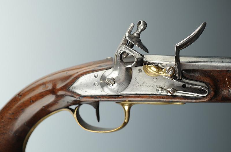 Pistolet de cavalerie r volution mod le an viii de st etienne - Pistolet a clou ...