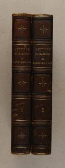 Photo 1 : SAINT-ARNAUD. Lettres du maréchal Saint-Arnaud.