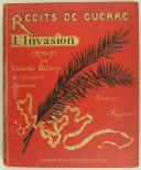 Photo 1 : LUDOVIC HALÉVY : RÉCITS DE GUERRE, L'INVASION 1870-1871.