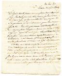 Grande Armée, Traités de Tilsit. LETTRE DU CAPORAL  BRO, datée de Tilsit le 20 juin 1807, À SA MÈRE demeurant à Paris.
