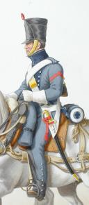 1816. Train d'Artillerie. Conducteur. (2)