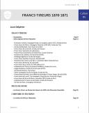Photo 5 : LES CAHIERS DE LA COMPAGNIE D'ELITE - FRANC-TIREURS 1870-1871 PAR LOUIS DELPERIER.
