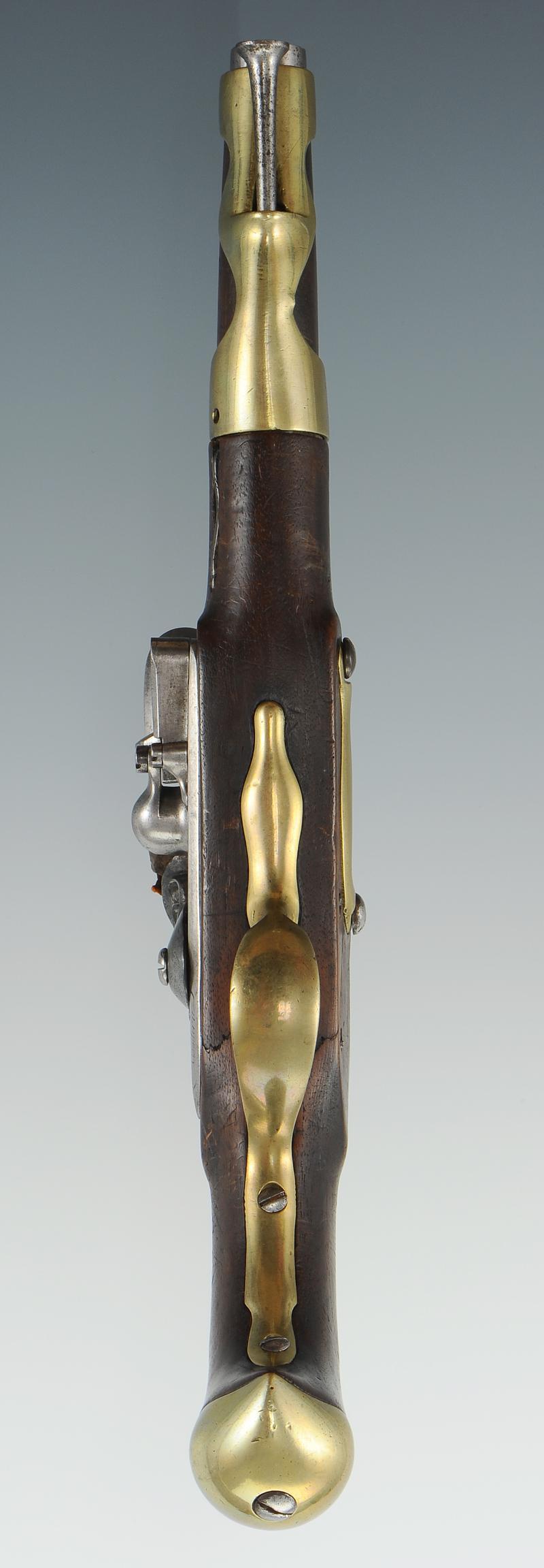 Pistolet d 39 ar on de cavalerie mod le 1763 1766 deuxi me type fabricatio - La manufacture saint etienne ...