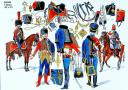 RIGO (ALBERT RIGONDAUD) : LE PLUMET PLANCHE U18 : HUSSARDS 6e REGIMENT 1802 A 1812.