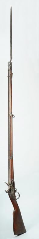 Photo 2 : FUSIL À SILEX D'INFANTERIE, MODÈLE 1777 CORRIGÉ AN XI, PREMIER EMPIRE.