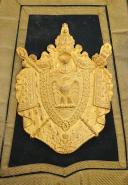 SABRETACHE DE GRANDE TENUE DE COLONEL DES GUIDES DE LA GARDE IMPÉRIALE, SECOND EMPIRE. (3)