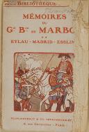 """"""" Mémoires du Général Marbot """" - Plon-Nourrit - Paris"""