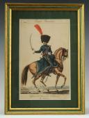 MARTINET : Troupes françaises, planche 189, officier du 2ème Régiment de Chasseurs à cheval, Premier Empire.