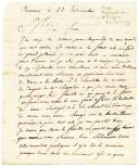 Grande Armée, Varsovie. LETTRE DU SOLDAT J. LEDUC, trompette au 2ème Dragons, À SON FRÈRE demeurant à Compiègne, datée de Varsovie le 22 décembre (1806).