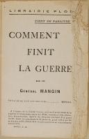 """Photo 2 : """" Mémoires du Général Marbot """" - Plon-Nourrit - Paris"""
