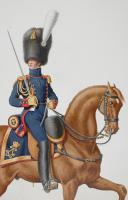 Photo 2 : 1817. Garde Royale. Artillerie à Pied. Lieutenant en Second.