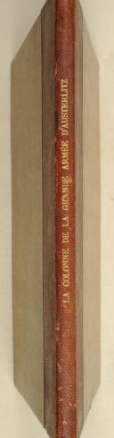 TARDIEU. La colonne de la grande Armée d'Austerlitz ou de la victoire.   (2)