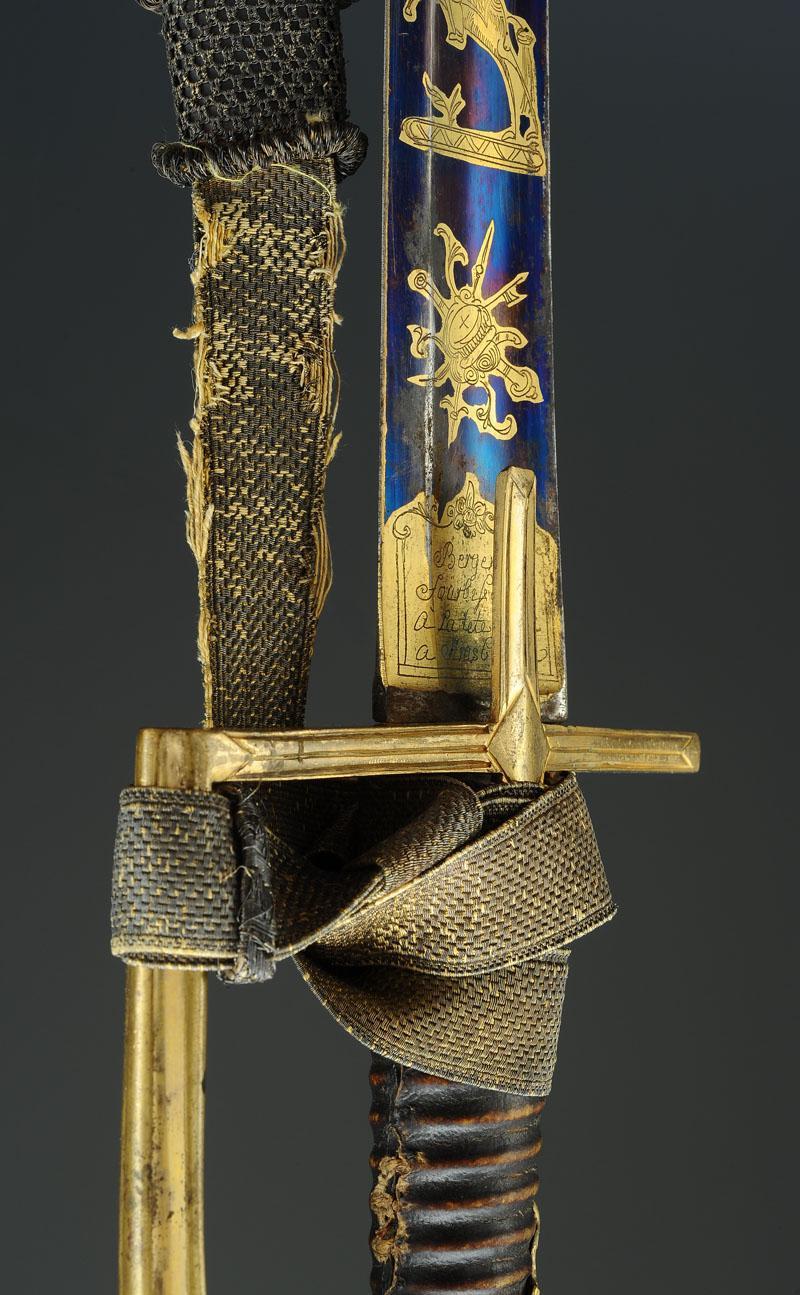 sabre d 39 officier de hussards garde l 39 allemande directoire premier empire. Black Bedroom Furniture Sets. Home Design Ideas
