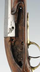 Photo 11 : PISTOLET DE GENDARME DE LA GARDE DE LA MAISON MILITAIRE DU ROI, MODÈLE 1763, ANCIENNE MONARCHIE.