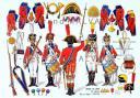 Photo 1 : RIGO (ALBERT RIGONDAUD) : LE PLUMET PLANCHE 227 : INFANTERIE DE LIGNE 30e regiment tete de colonne 1809 - 1810.